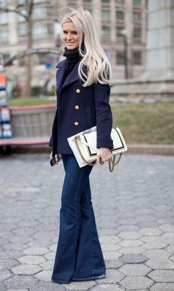 casaco azul marinho inverno