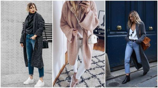 como usar casaco longo