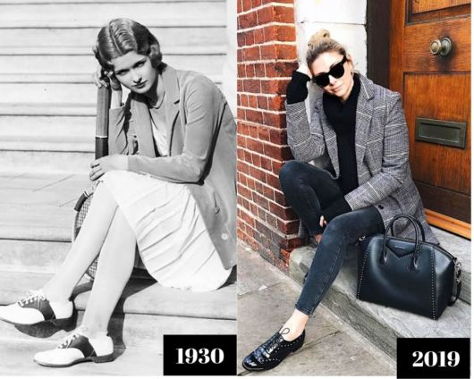 imagem do oxford em diferentes décadas.