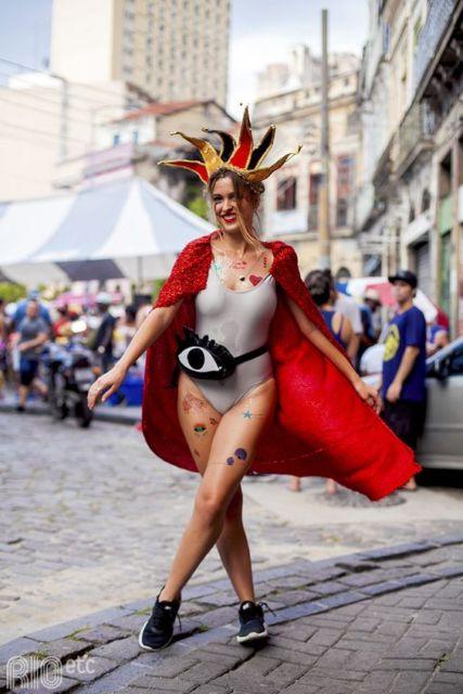 fantasia bloquinho carnaval