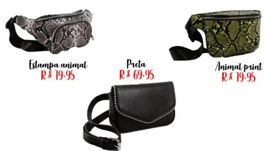 modelos de pochetes e preços
