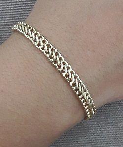 pulseira de ouro lacraia