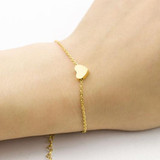 pulseira delicada com pingente