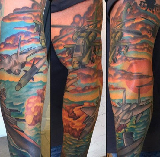 tatuagem militar
