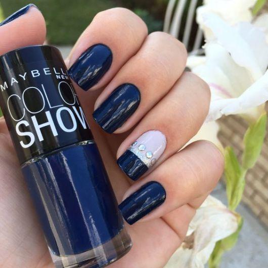 esmlate maybelline azul marinho