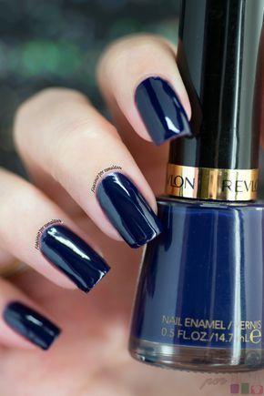 esmalte revlon azul marinho
