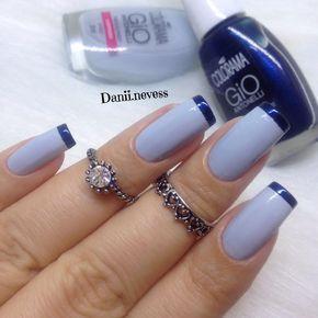 francesinha azul