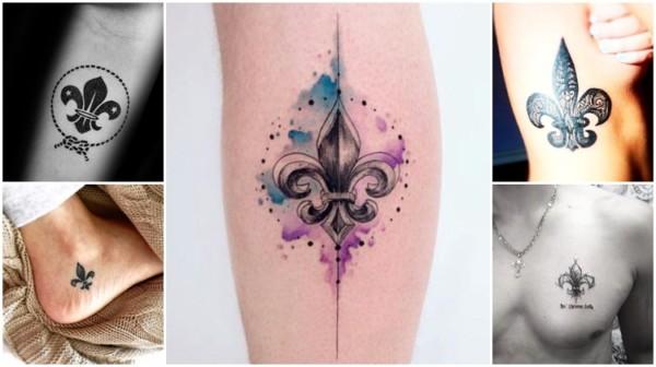Tatuagem Flor de Lis – As 41 tattoos mais incríveis e apaixonantes!