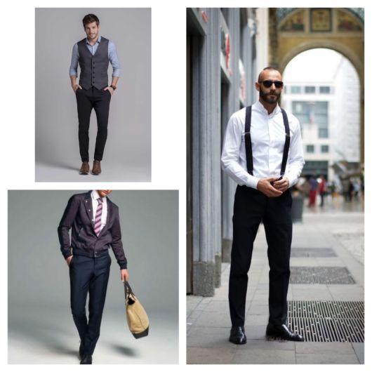 Calça social masculina – 70 ideias para usar a peça com elegância!