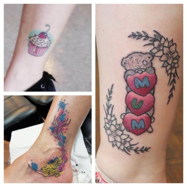 Tatuagem no tornozelo – As 80 tattoos mais lindas e apaixonantes!