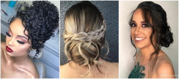 penteados despojados para casamento