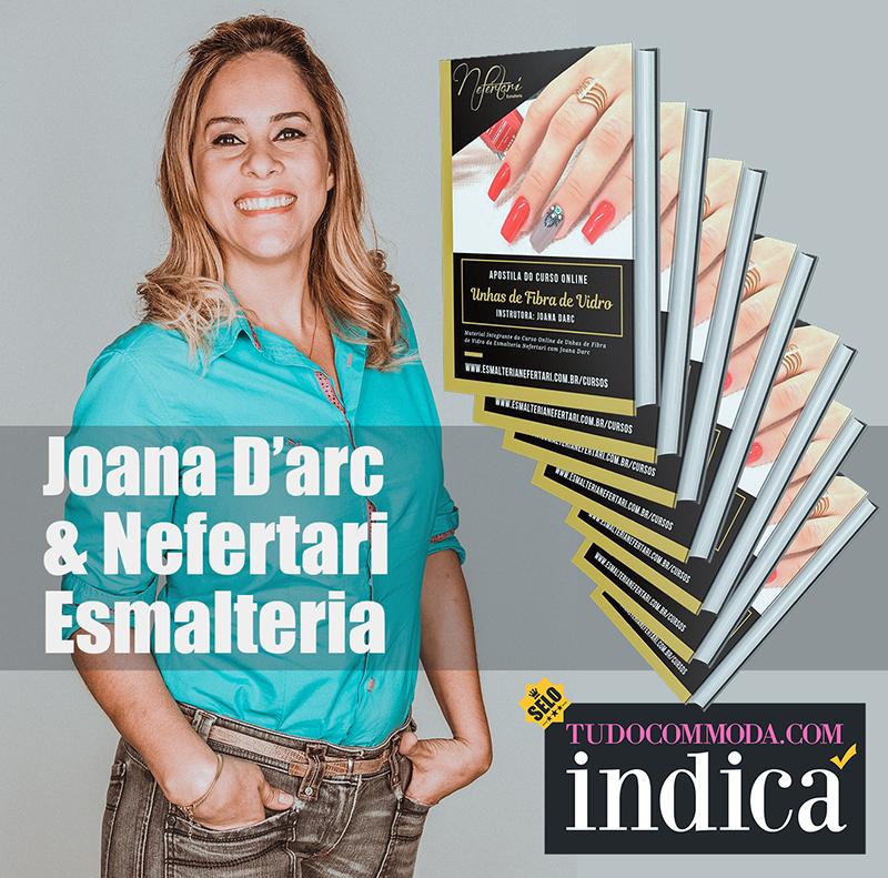 Tudo com moda indica: curso de alongamento de unhas do instituto Nefertari com Joana D'arc