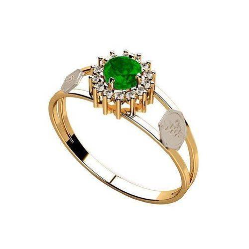 anel de esmeralda