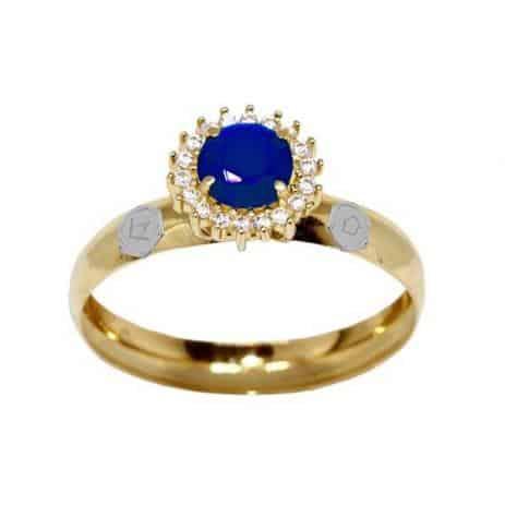 anel arquitetura pedra azul