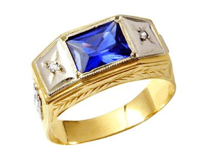 anel masculino exatas