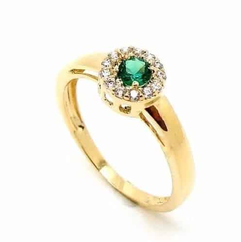 anel de esmeralda serviço social