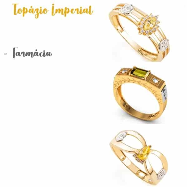 anel de topázio imperial significado