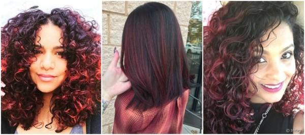 ideias para cabelo médio