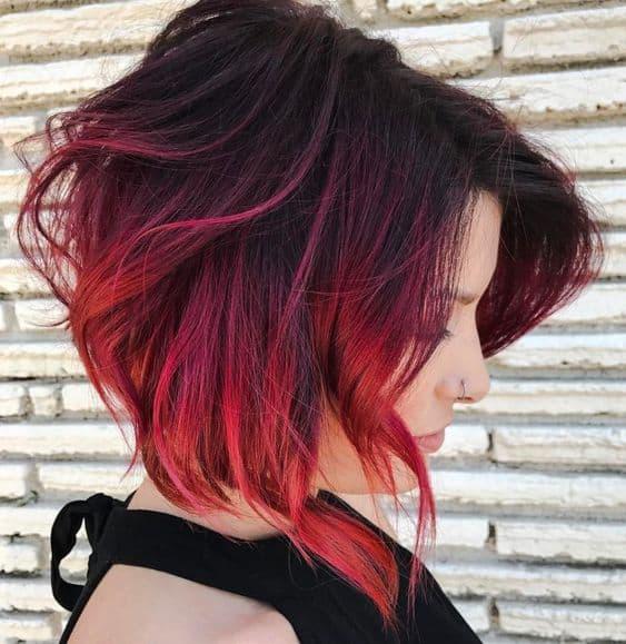 cabelo curto moderno