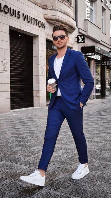 calça social masculina