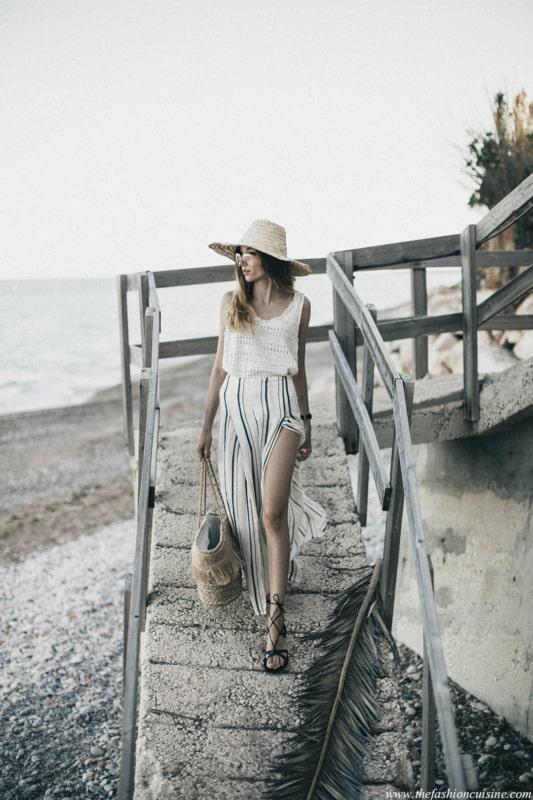 foto criativa praia