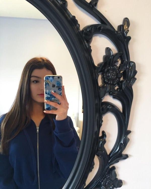 foto no espelho