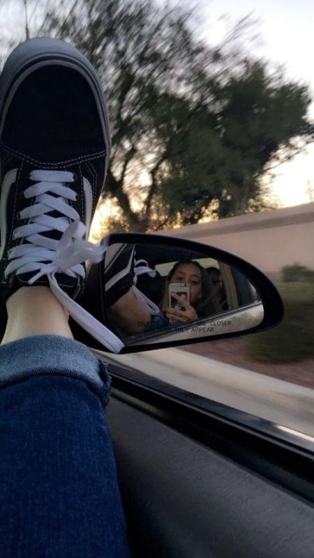 selfie carro