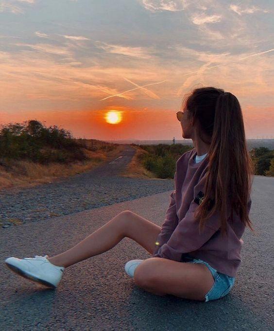 foto pôr do sol