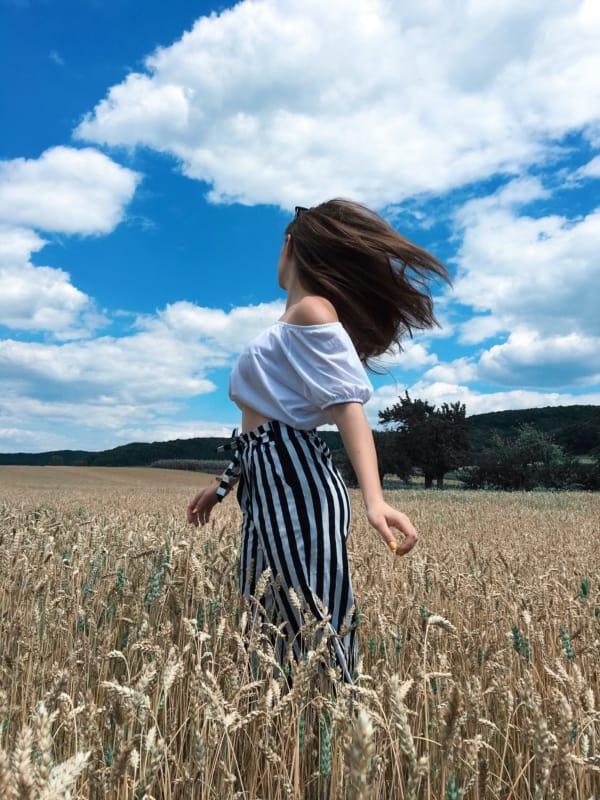 foto no campo