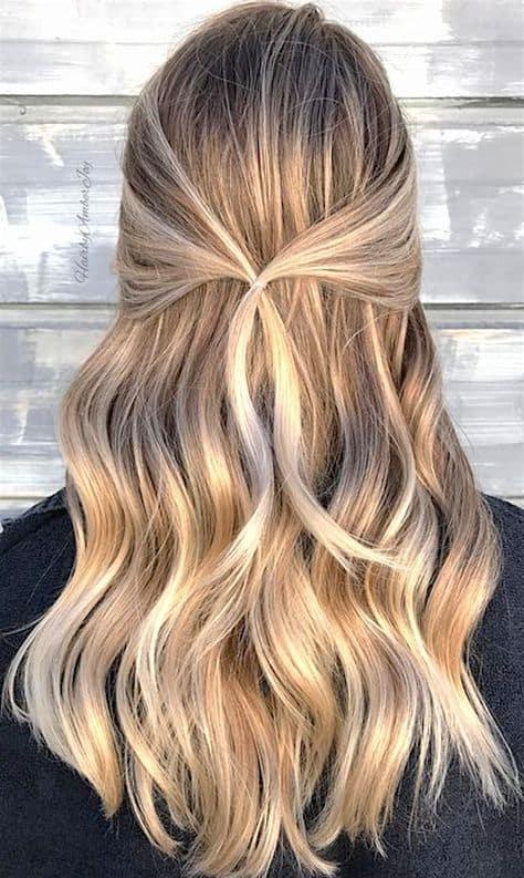 penteado com ligas simples e facil