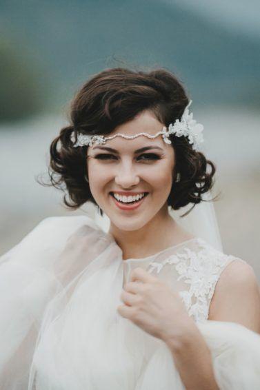 penteados soltos para casamento chanel curto