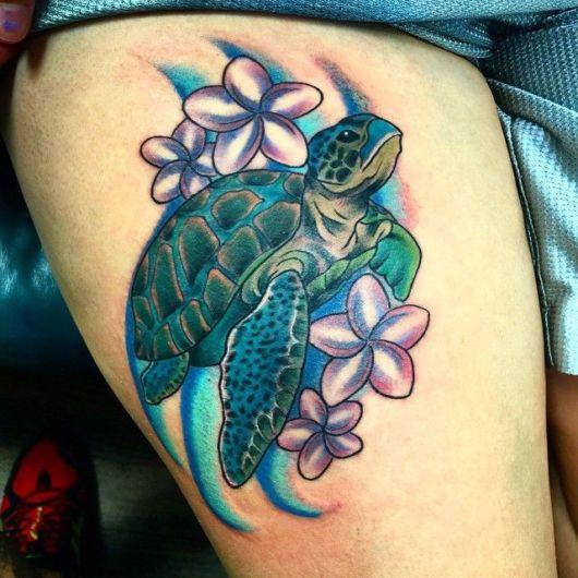 Tatuagem de tartaruga – O que significa? + 70 desenhos belíssimos!