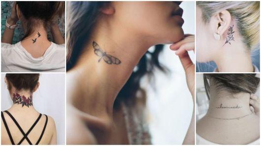 Tatuagem no pescoço feminina – 47 inspirações de cair o queixo!
