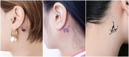ideias para tatuagem de borboleta