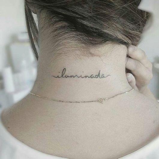 fonte tatuagem escrita feminina