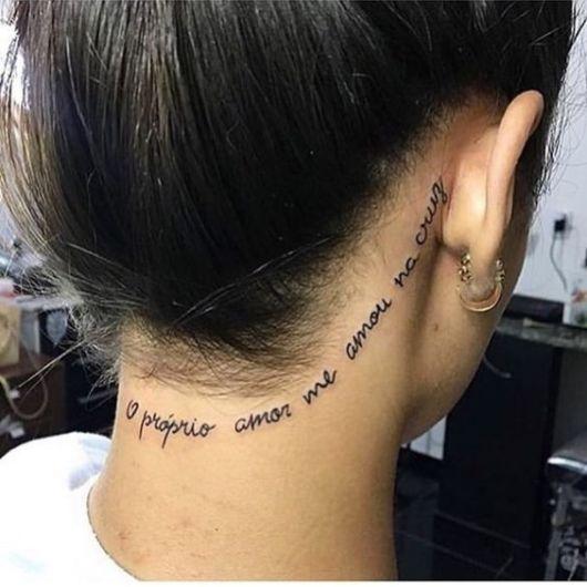 frase tatuagem feminina