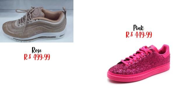 modelos nike e adidas