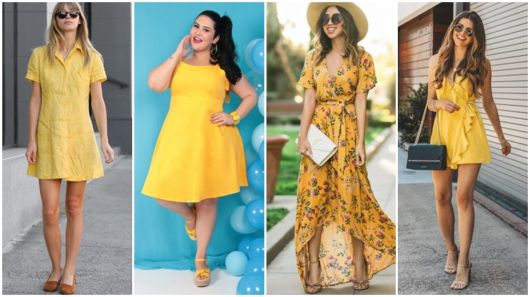 Como usar vestido amarelo? – Dicas e looks para o seu dia a dia!