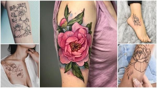Peônia Tattoo – 37 Inspirações de tatuagens maravilhosas com a flor!