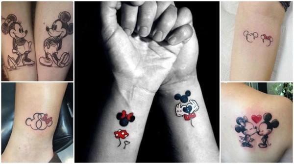 Tatuagem do Mickey e da Minnie – 37 Inspirações fofas e charmosas!