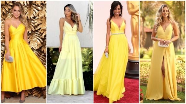 Vestido de madrinha amarelo – Dicas para escolher o ideal!