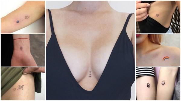 Tatuagens pequenas – 81 ideias de tattoos delicadas e femininas!