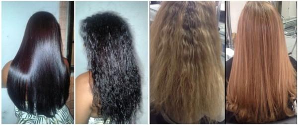 cabelo alisado escova london