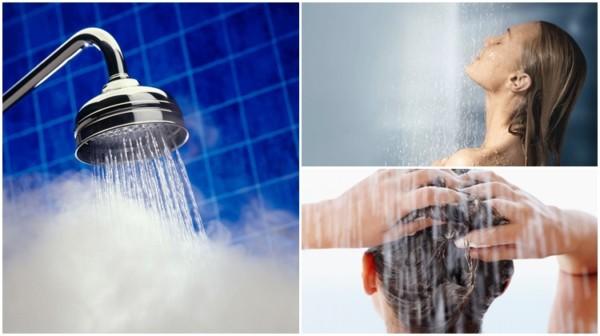 temperatura da água para lavar o cabelo