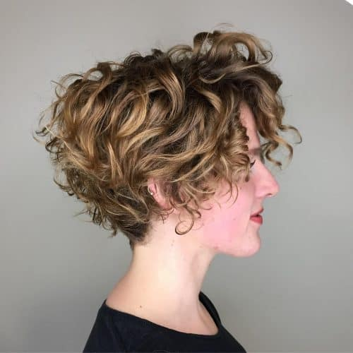 cabelo claro com luzes