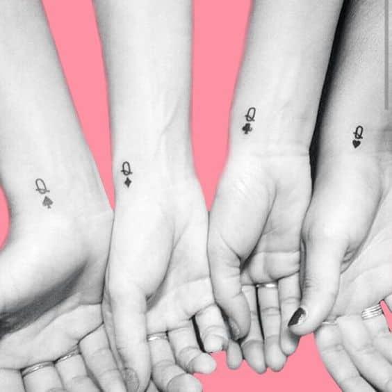 tatuagem bff