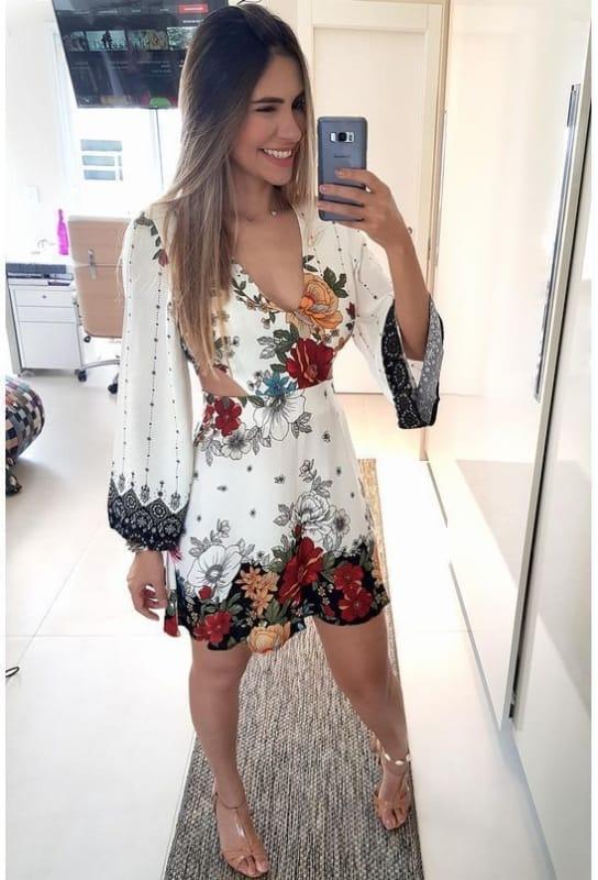 vestido simples e barato para noivado