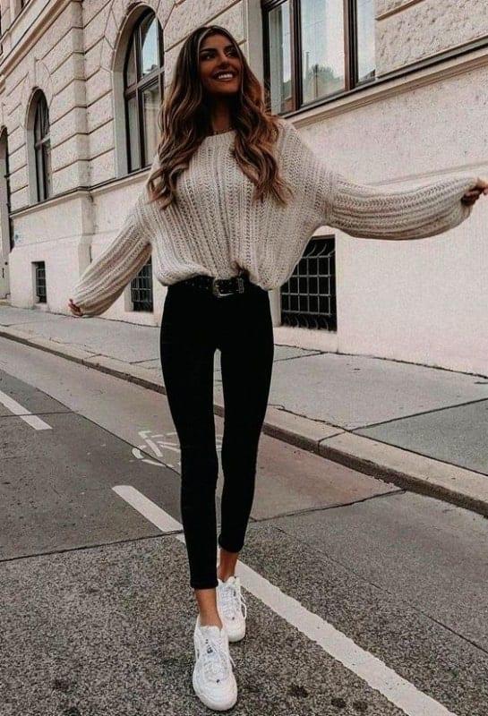 combinação tumblr com calça 50