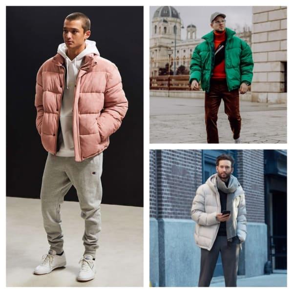 como usar jaqueta puffer masculina