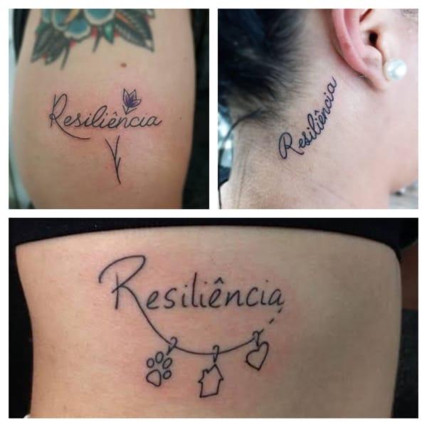 ideias de tatuagem resiliência
